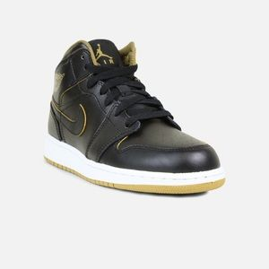 huge selection of 00d4a 55cab ... reduced jordan shoes nike air jordan retro 1 black gold white shoes  21730 e989e